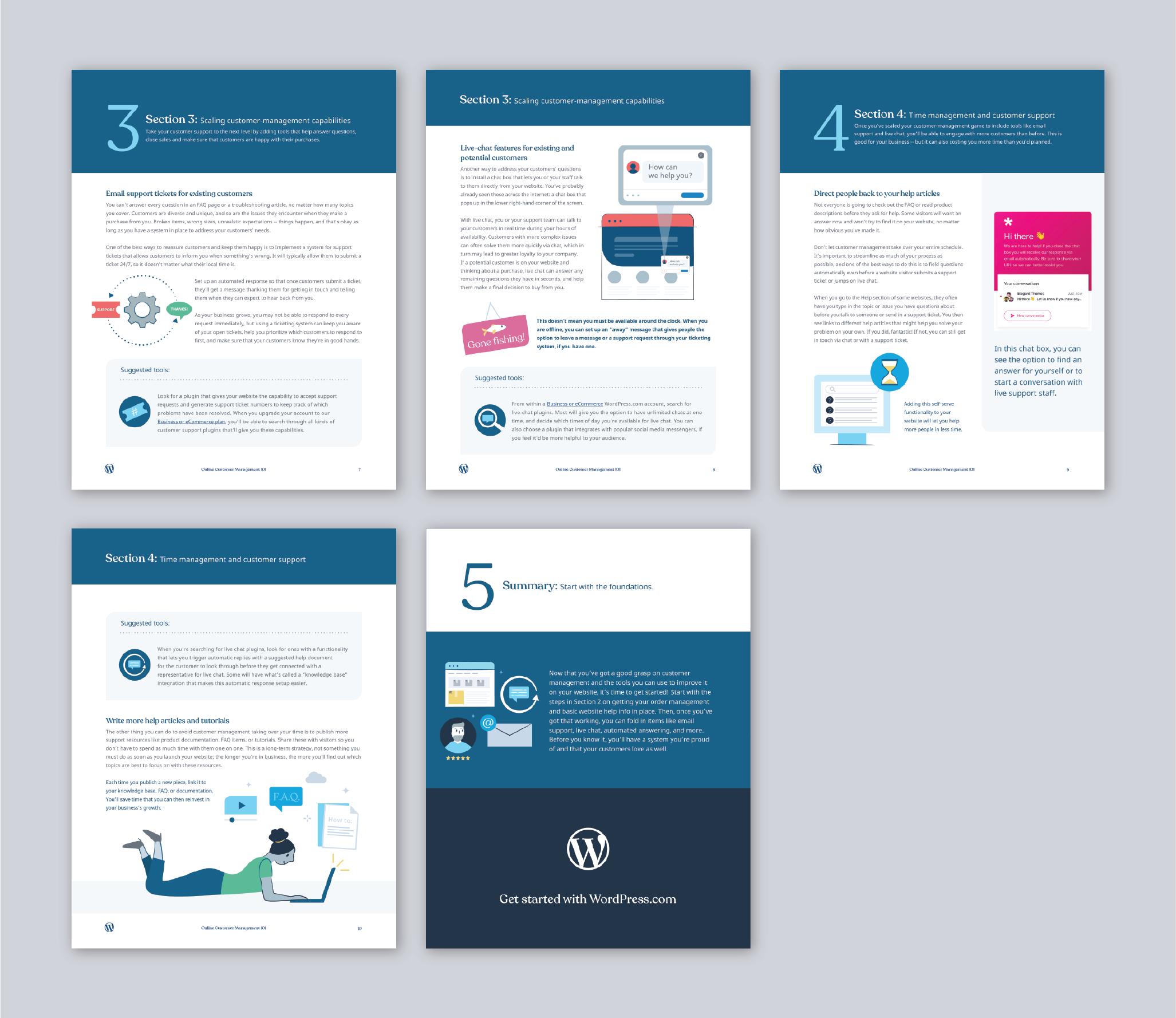 WordPress ebook customer management-02