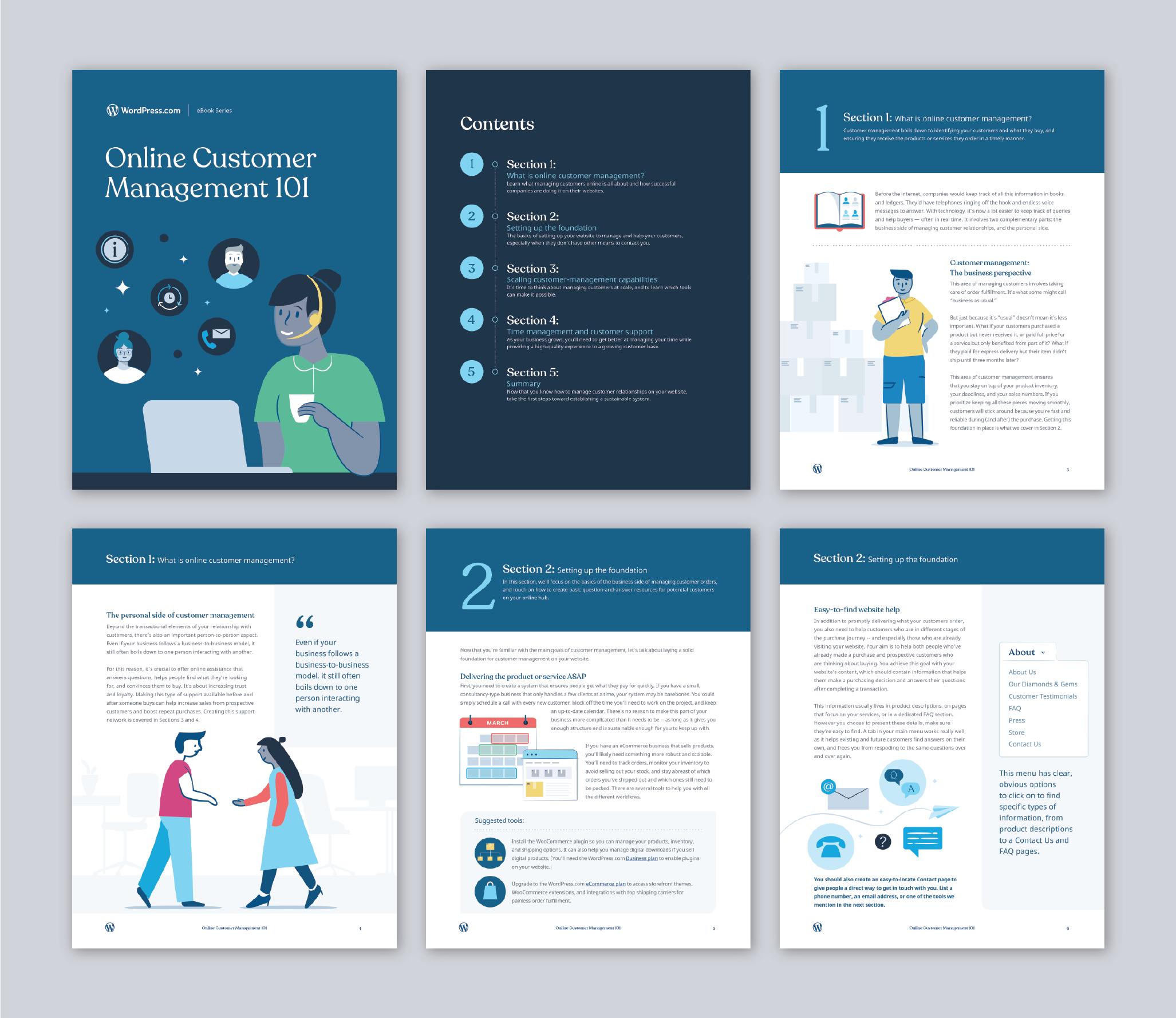 WordPress ebook customer management-01