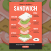 food isometric infographic
