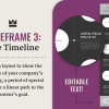 Vector wireframe template