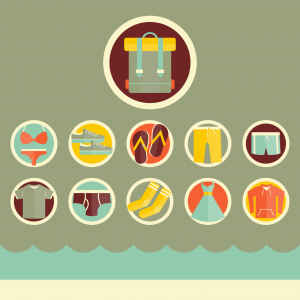 travel infographic icons