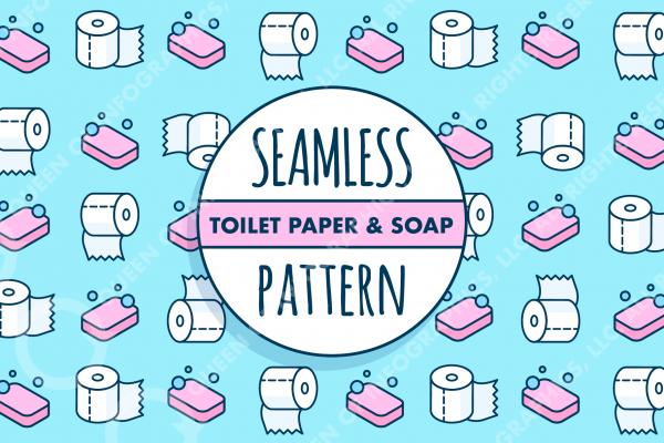 toilet paper pattern