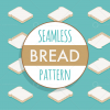 seamless vector bread baking pattern