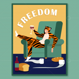 Tiger Bread Poster