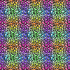 Seamless rainbow cheetah leopard pattern
